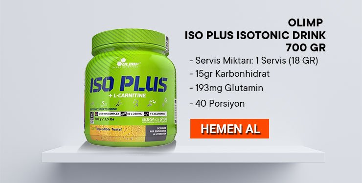 Olimp İso Plus İsotonic Drink 700gr