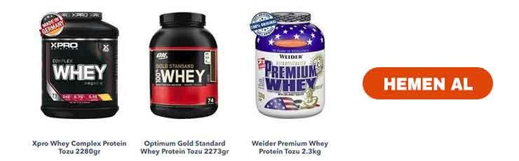 Protein Tozları Hemen Al